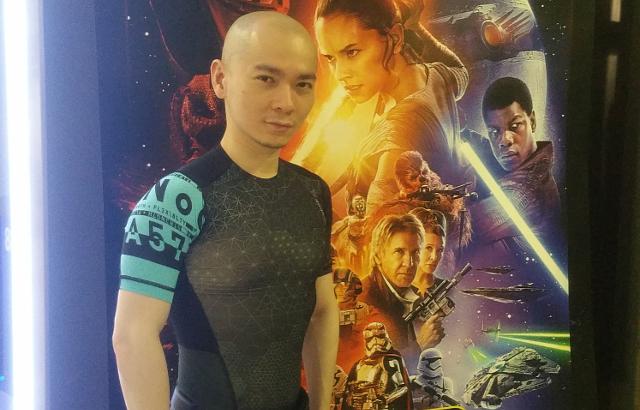Sherman on Star Wars background